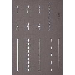 NOCH 34240 N Straßenmarkierungs-Schablonen