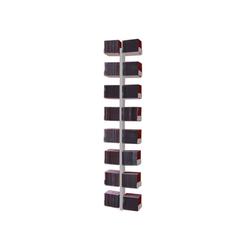 Radius Wandregal Radius CD-Baum Regal silber Wand 1 groß 723 C
