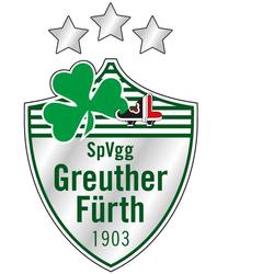 Wall-Art Wandtattoo SpVgg Greuther Fürth Logo (1 Stück) 40 cm x 62 cm x 0,1 cm