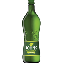 Johns Natural Cordial Lime Juice Sirup Flasche mit 0.7 Liter
