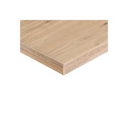 boho office® Tischplatte, Echtholz-Furniert, Made in Germany, mit Parkettöl geölt (stumpfmatt) 180 cm x 2.6 cm x 80 cm