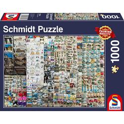 Schmidt Spiele Puzzle Schmidt 58394 - Premium Quality - Souvenirstand, 1000 Teile Puzzle, 1000 Puzzleteile