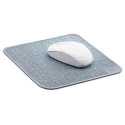 hama hama Mousepad Textildesign grau
