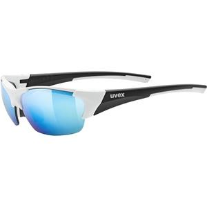 UVEX Blaze III Brille white/black matt/mirror blue 2021 Brillen & Goggles