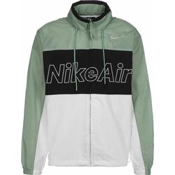 NIKE Herren Trainingsjacke 'Air' weiß / grün / schwarz