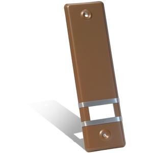 JAROLIFT Design Aluminium Abdeckplatte für Gurtwickler/Lochabstand: 160 mm/Farbe: gold