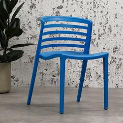 Norrie Gartenstuhl Modern Blau