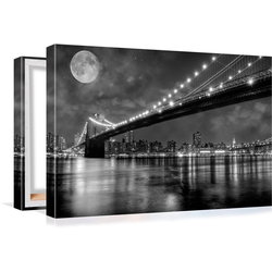 Conni Oberkircher´s Bild Big City 6 - Full Moon 80 cm x 60 cm