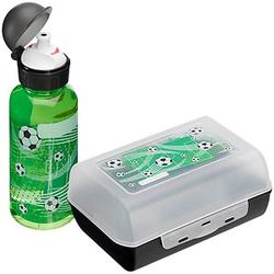 emsa Kinder Trinkflasche & Lunchbox Soccer