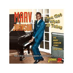 Marv Johnson - You Got What It Takes (CD)