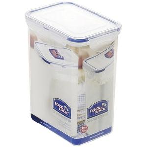 Lock & Lock Schüttbox, Vorratsbox, Vorratsdose, 1,8 Liter rechteckig, Kunststoff transparent, 151 x 108 x 190 mm