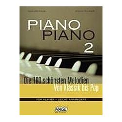 Piano Piano  leicht arrangiert. Stefan Thurner  Gerhard Kölbl  - Buch