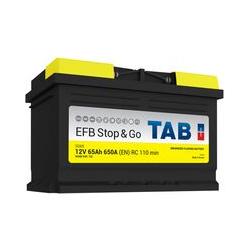 Starterbatterie TAB Start & Stop EFB L3B SG65 12V 65Ah 650A
