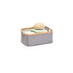 HTI-Living Aufbewahrungsbox Aufbewahrungskorb Bambus (1 Stück), Aufbewahrungskorb 26 cm x 18 cm x 38 cm