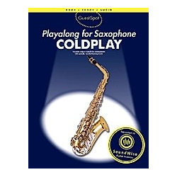 Guest Spot Coldplay  Playalong for Alto Saxophone - Buch