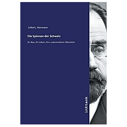 Die Spinnen der Schweiz. Hermann Lebert  - Buch