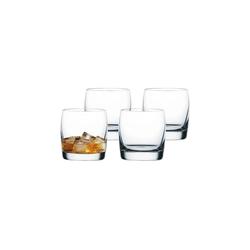 Nachtmann Whiskyglas Vivendi Whiskybecher 4er Set (4-tlg), Kristallglas