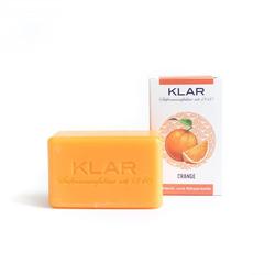 Klar - Orangenseife - Vegan - Palmölfrei - 100 g