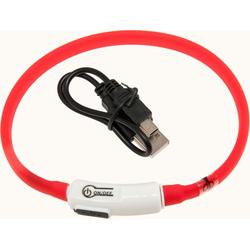 KARLIE Visio Light LED-Leuchthalsband für Hunde 35 cm rot