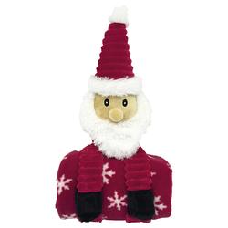 Nobby Plüsch Weihnachtsmann mit Decke