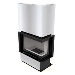Kretz Eck-Warmluftkaminofen | F110 | 10 kW