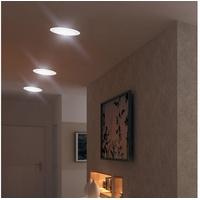 ETC Shop etc-shop LED Panel, 3er Set LED Einbau Spot Wohnraum Leuchten Decken Wand Panel Strahler ALU Lampen