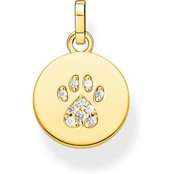 Thomas Sabo Coin Pfote Katze gold PE882-414-14 Anhänger