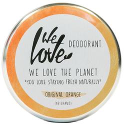 We Love The Planet Natürliche Deodorant Creme Original Orange 48 g