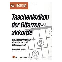 Taschenlexikon der Gitarrenakkorde  für Gitarre. Andrew DuBrock  - Buch
