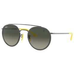 RAY BAN Sonnenbrille Ferrari RB3647M grau