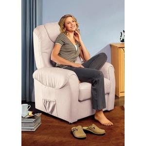 sit&more TV-Sessel, wahlweise manuell verstellbar oder mit Motor und Aufstehhilfe beige
