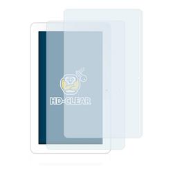 BROTECT Schutzfolie für Odys Ieos Quad 10 Pro, (2 Stück), Folie Schutzfolie klar