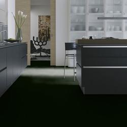 Wineo Laminat - 550 Black matt - matter Laminatboden im Fliesenformat