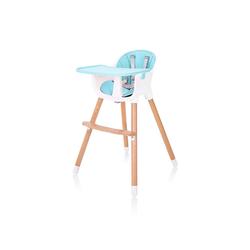 Baby Vivo Hochstuhl Design 2in1 Kinderhochstuhl - Lani in Türkis