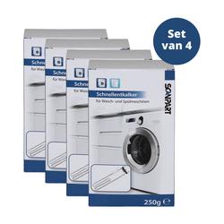 Scanpart Entkalker für Geschirrspüler und Waschmaschine 4 Stück