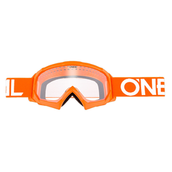 O´Neal B-10 Solid Jugend Brille, weiss-orange