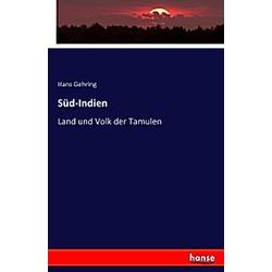 Süd-Indien. Hans Gehring  - Buch