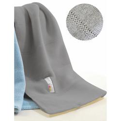 Picci Wolldecke für graues Bett