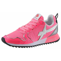 W6YZ Keilsneaker in stylischer Neon-Optik rosa 40