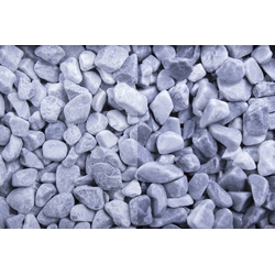 Marmor getrommelt Kristall blau 8-16 - Big Bag 500 kg