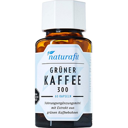 NATURAFIT grüner Kaffee 300 Extrakt Kapseln 60 St