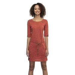 Kleid RAGWEAR - Tanya Slub Terracotta (TERRACOTTA) Größe: M