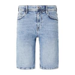 TOM TAILOR DENIM Herren Loose Fit Jeansshort in 90er Waschung, blau, Gr.29