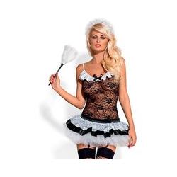 Obsessive Sexy Hausmädchenkostüm, 5 Teile