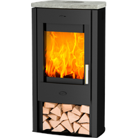 Fireplace Tuvalu Speckstein Top
