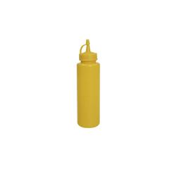 SCHNEIDER Spenderflasche, gelb, Quetschflasche aus Polypropylen, Volumen: 500 ml