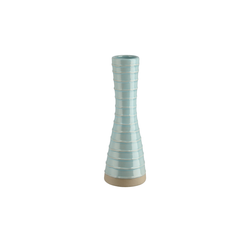 Basispreis* Vase ¦ blau ¦ Steinzeug ¦ Maße (cm): H: 19,7 Ø: [6.8]
