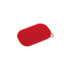 Küchenprofi Silikonschwamm in rot, 13 x 8 cm