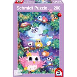 Im Eulenwald. Puzzle 200 Teile