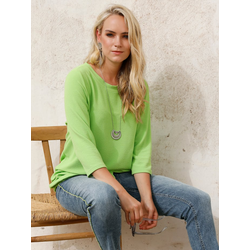 Shirt MIAMODA Limettengrün - Größe: 48